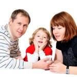 Happy family — Stock Photo #9158476