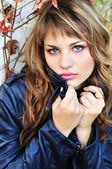 Portrét dospívající dívka — Stock fotografie