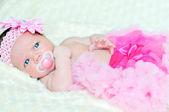 Moda ragazza neonato — Foto Stock