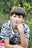 Teen boy — Stock Photo