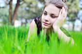 Spring relax — Stock Photo