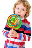 Big lollipop — Stock Photo