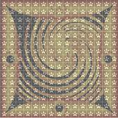 Decorative gold pinstripe — Stock Vector