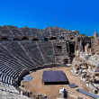 Stock Photo: Old amphitheater in Side, Turkey