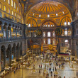 Hagia Sophia interior at Istanbul Turkey — Stock Photo #10248494