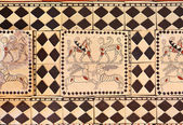 The ancient art in the Museum of Anatolian Civilizations - Ankar — Stock Photo