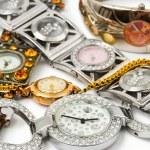 žena hodinky — Stock fotografie