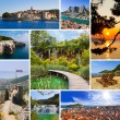 Collage of Croatia travel images — Stock Photo #10363905