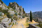 Old fort in Klis, Croatia — Stock Photo