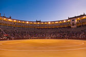 Bullfighting arena corrida at Madrid Spain — Stock Photo