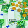 Euro coins and banknotes — Stock Photo #10413247
