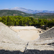 Stock Photo: Ruins of Epidaurus amphitheater, Greece