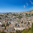 Panorama of Granada Spain — Stock Photo