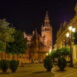 Cathedral La Giralda at Sevilla Spain - Stock Photo