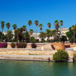 Stock Photo: Palace in Seville Spain
