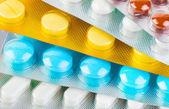 Packs of pills — Stock Photo