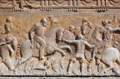 Bas-relief at Palace Alhambra - Granada Spain — ストック写真