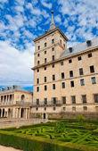 Замок Эскориал вблизи Мадрид Испания — Стоковое фото