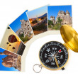 Royalty-Free Stock Photo: Cappadocia Turkey images and compass