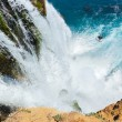 Stock Photo: Waterfall Duden at Antalya, Turkey