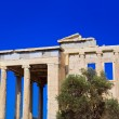 Erechtheum temple in Acropolis at Athens, Greece — Stok fotoğraf