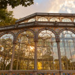 Crystal Palace at Madrid Spain — Stock Photo