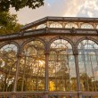 Crystal Palace at Madrid Spain - Stock Photo