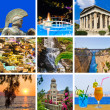 Collage of Greece travel images — Stock Photo #7966387