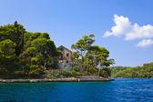 Monastery at island Mljet in Croatia — Stock Photo