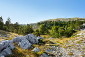 Mountains view at Biokovo, Croatia — Stock fotografie