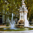 Fountain in Madrid, Spain - Stock Photo