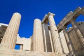 Entrance to Acropolis at Athens, Greece — Stock Photo