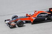 SEPANG, MALAYSIA - APRIL 8: Timo Glock (team Marussia Virgin Rac — Stock Photo