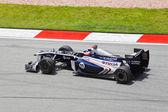 SEPANG, MALAYSIA - APRIL 8: Rubens Barrichello (team AT&T Willia — Stockfoto
