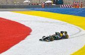 SEPANG, MALAYSIA - APRIL 10: Jarno Trulli (Team Lotus) at race o — Stock Photo