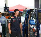 SEPANG, MALAYSIA - APRIL 10: Mark Webber (team Red Bull Racing) — Stock Photo