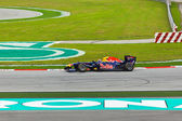 SEPANG, MALAYSIA - APRIL 9: Mark Webber (team Red Bull Racing) a — Stock Photo
