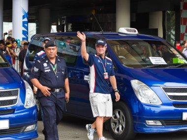 SEPANG, MALAYSIA - APRIL 10: Rubens Barrichello (team Williams)