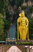 Statue of god Muragan at Batu caves, Kuala-Lumpur, Malaysia — Stock Photo