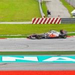 Постер, плакат: SEPANG MALAYSIA APRIL 9: Lewis Hamilton team McLaren Mercede