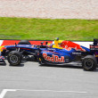 SEPANG, MALAYSIA - APRIL 8: Mark Webber (team Red Bull Racing) a - ストック写真