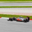 Постер, плакат: SEPANG MALAYSIA APRIL 8: Jenson Button team McLaren Mercedes