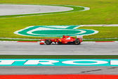 SEPANG, MALAYSIA - APRIL 9: Felipe Massa (team Scuderia Ferrari) — Stock Photo