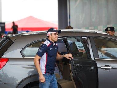 SEPANG, MALAYSIA - APRIL 10: Pastor Maldonado (team AT&T William