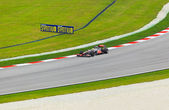 SEPANG, MALAYSIA - APRIL 9: Lewis Hamilton (team McLaren Mercede — Foto Stock