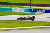 SEPANG, MALAYSIA - APRIL 8: Sebastian Vettel (team Red Bull Raci — Stock Photo