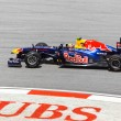 Постер, плакат: SEPANG MALAYSIA APRIL 8: Mark Webber team Red Bull Racing a