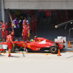 SEPANG, MALAYSIA - APRIL 8: Felipe Massa (team Scuderia Ferrari — Stock Photo