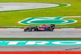 SEPANG, MALAYSIA - APRIL 9: Mark Webber (team Red Bull Racing) a — Stock Photo