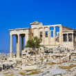Erechtheum temple in Acropolis at Athens, Greece — Foto de stock #8286661